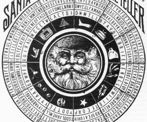 Santa Claus Fortune teller From 1888