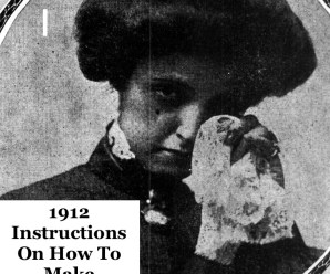 1912 Instructions On How To Make Handkerchiefs