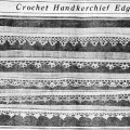 Crochet Handkerchief Edgings From 1917