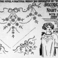 Embroidery Decoration For Night Dress From 1913