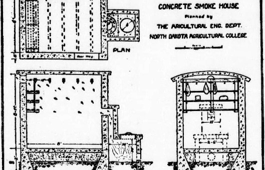 Plans for a Concrete Smokehouse - StrangeAgo on stone shed plans, stone cottage plans, stone log cabin plans, stone brewery plans, stone church plans, stone garage plans, stone root cellar plans,