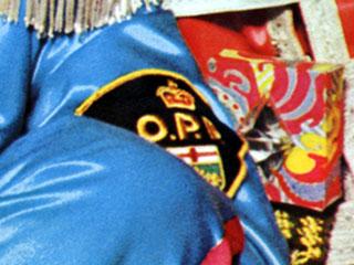 OPP Badge close up