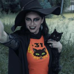 Halloween Hellcat T-Shirt