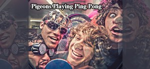 Pigeons Playing Ping Pong to play StrangeCreek Campout