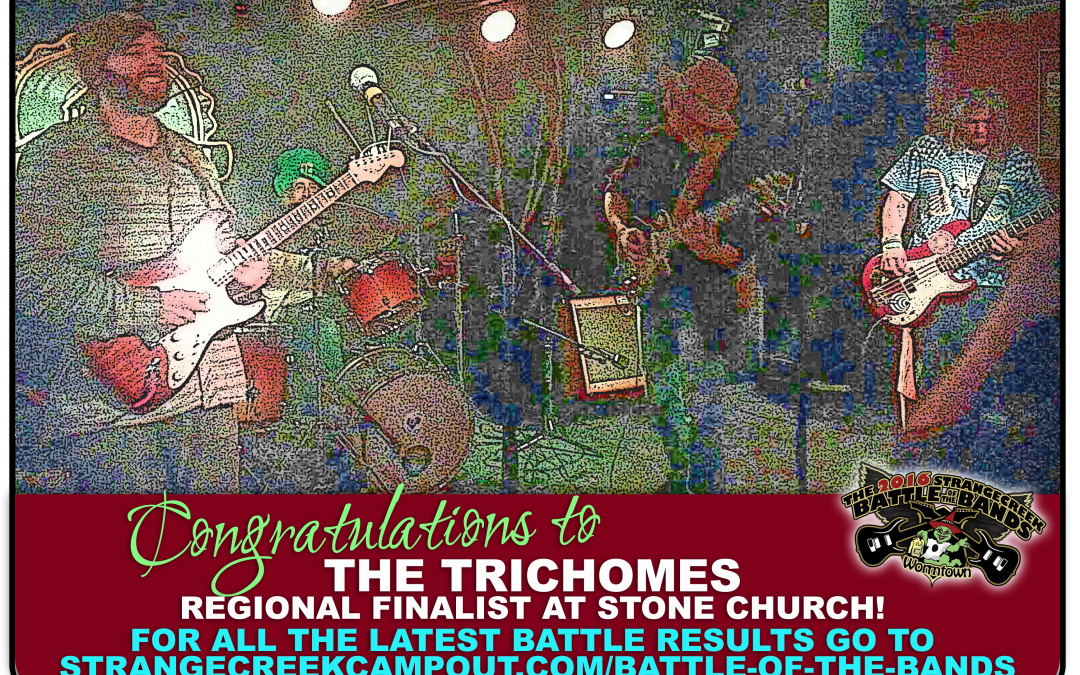Congratulations to REGIONAL FINALIST, The Trichomes!