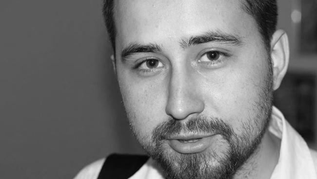 Андрей Загидуллин на питчинге 24 «Кинотавра»