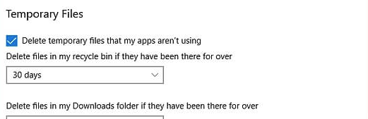 Delete temporary file
