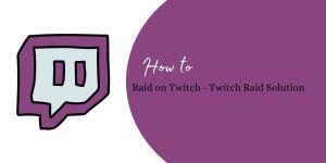 Raid on Twitch