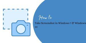 Screenshot in Windows