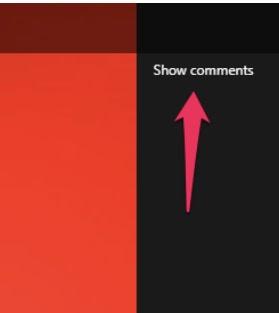 Show Comment