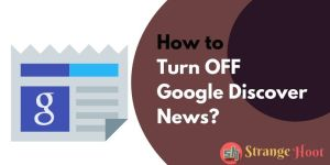 Turn OFF Google Discover News