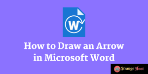 How to Draw Arrows in Word