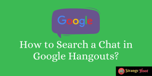 How to Search a Chat in Google Hangouts?