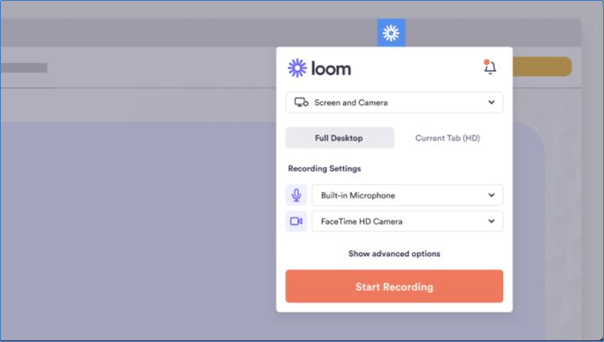 Loom Screen recording software