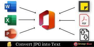 Extract Text from Images and convert into Editable File