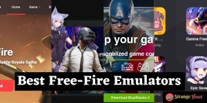 free fire emulators
