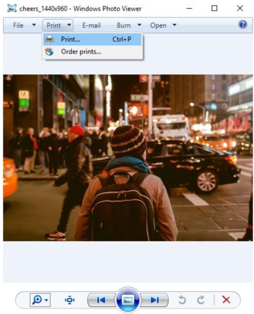 Windows Photo Viewer (Windows Inbuilt App)