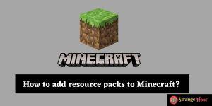 minecraft resource pack