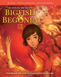 Big Fish and Begonia DVD cover