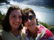 Momma and I at the Falls