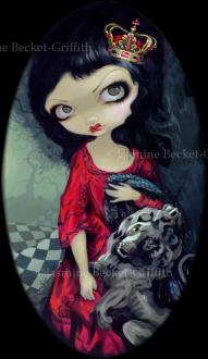 Red Queen   Strangeling  The Art of Jasmine Becket Griffith Red Queen