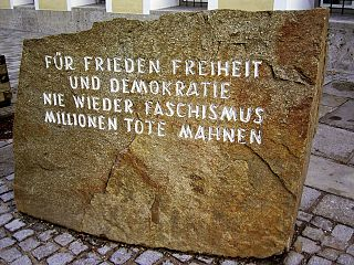 Monument at Hitler's Birthplace