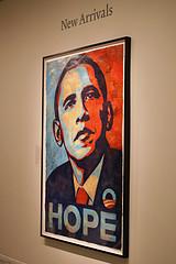 Obama Hope Painting