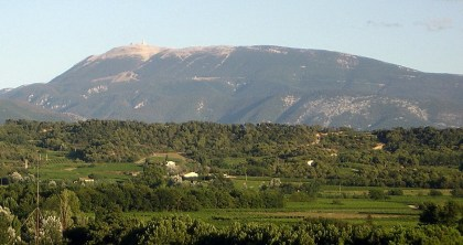 Mont Ventoux from the Baronnies