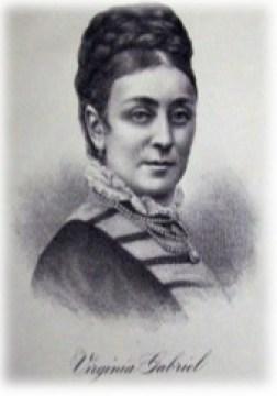 Mary Anne Virginia Gabriel (07/02/1825 – 07/08/1877)