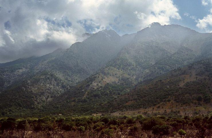Το Όρος Σάος, στη Σαμοθράκη