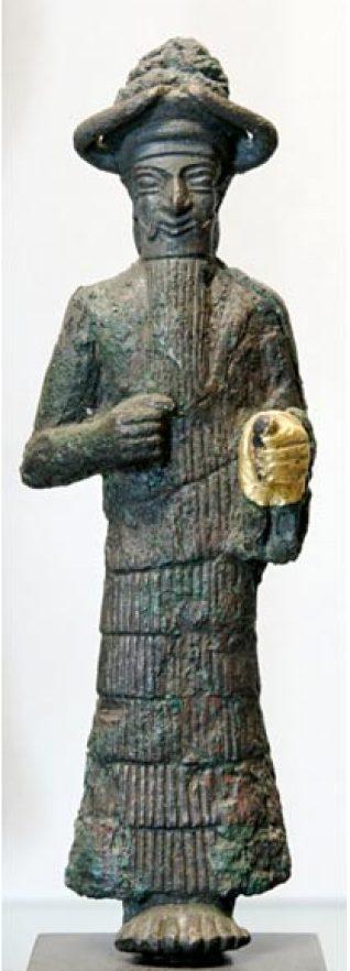 Ο θεός με το χρυσό χέρι, πιθανόν ο Ινσχουσινάκ
