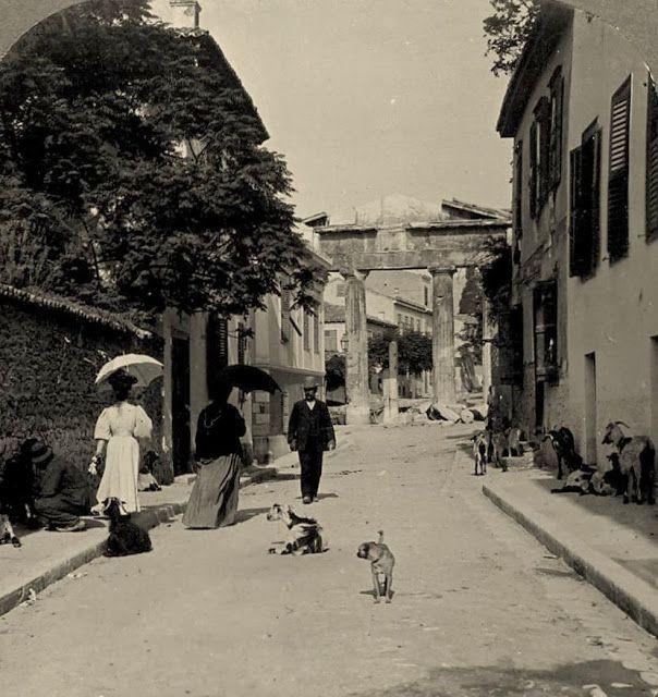 Αθήνα, Πλάκα (1908)