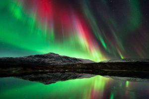 Το Βόρειο Σέλας, όπως φαίνεται από τη Βόρεια Νορβηγία