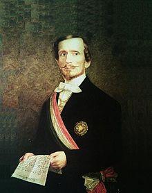 Ο Βαρόνος Μπετίνο Ρικασόλι, 2ος Πρωθυπουργός της Ιταλίας (09/03/1809 - 23/10/1880)