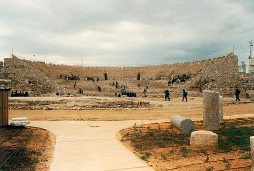 Το ρωμαϊκό θέατρο της Καισάρειας