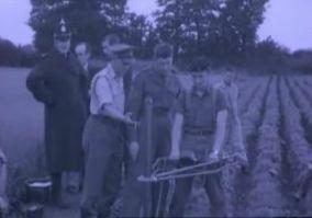 Φωτογραφία από τις έρευνες στο αγρό του Charlton