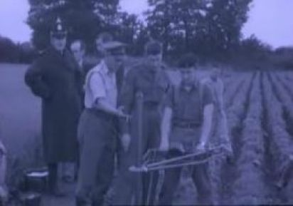 Φωτογραφία από τις έρευνες στο αγρό του Τσάρλτον