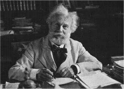 Η τελευταία φωτογραφία του Camille Flammarion (26/02/1842 - 03/06/1925)