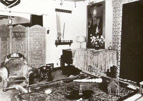 Το σαλόνι του Falcon Lair
