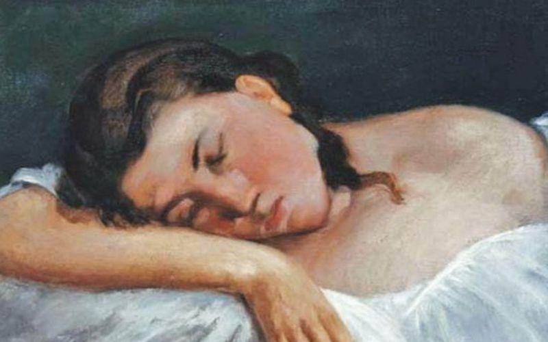 Η διάσημη κοιμωμένη της Γαλλίας, το 1900...