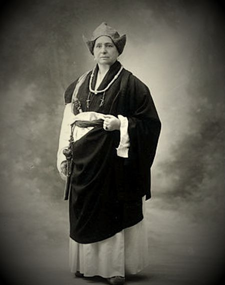 Alexandra David-Neel (24/10/1868 - 08/09/1969)