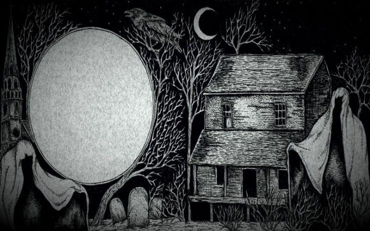 Το φάντασμα του καλόγηρου...