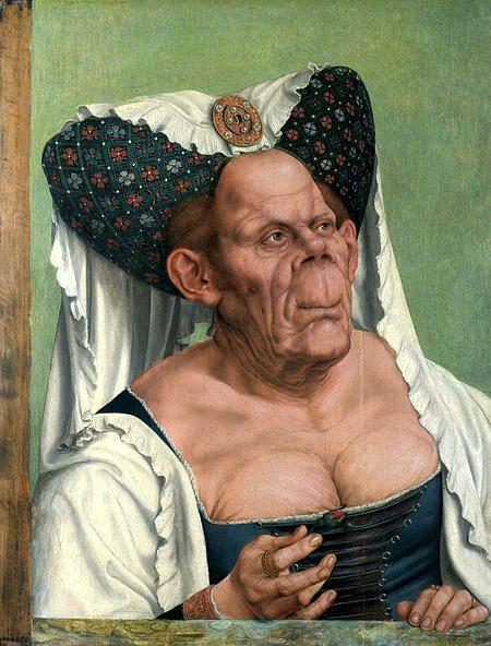 """""""Η άσχημη Δούκισσα"""", σατιρικό πορτραίτο που βρίσκεται στην Πινακοθήκη του Ανακτόρου του Windsor, όπου εικαζόταν πως παρίστανε τη Δούκισσα Μαργαρίτα"""