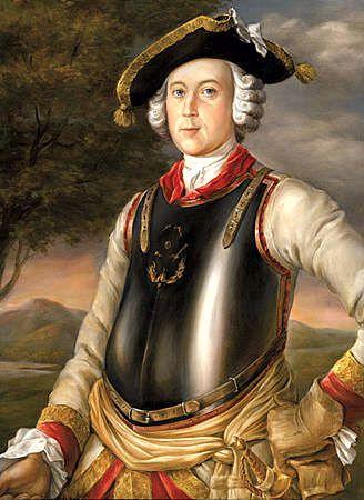 Hieronymus Karl Friedrich von Munchhausen (11/05/1720 - 22/02/1797)