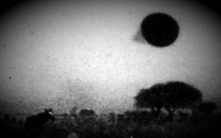 Ιπτάμενος φωτεινός κώνος πάνω από τη Βόρεια Καρολίνα, το 1948...