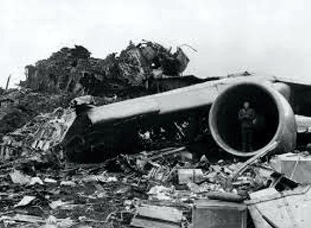 Σκηνή από τον τόπο της τραγωδίας, στις 27 Μαρτίου του 1977