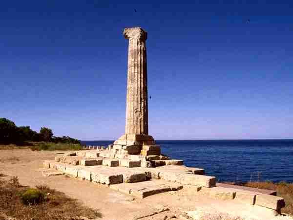 Κρότωνας, Ναός της Λακινίας Ήρας