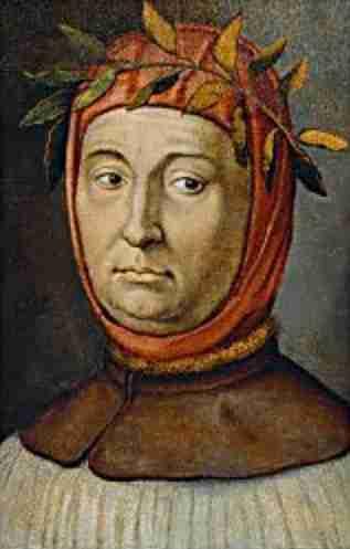 Ο Ιταλός ποιητής Πετράρχης (20/07/1304 - 20/07/1374)