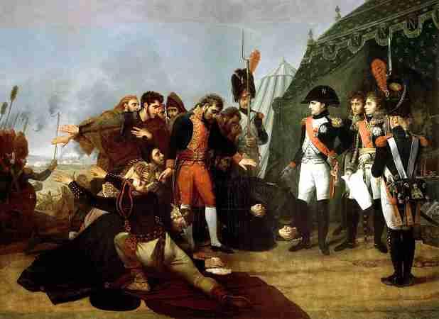 Ο Ναπολέων αποδέχεται την παράδοση της Μαδρίτης, στις 4 Δεκεμβρίου του 1808