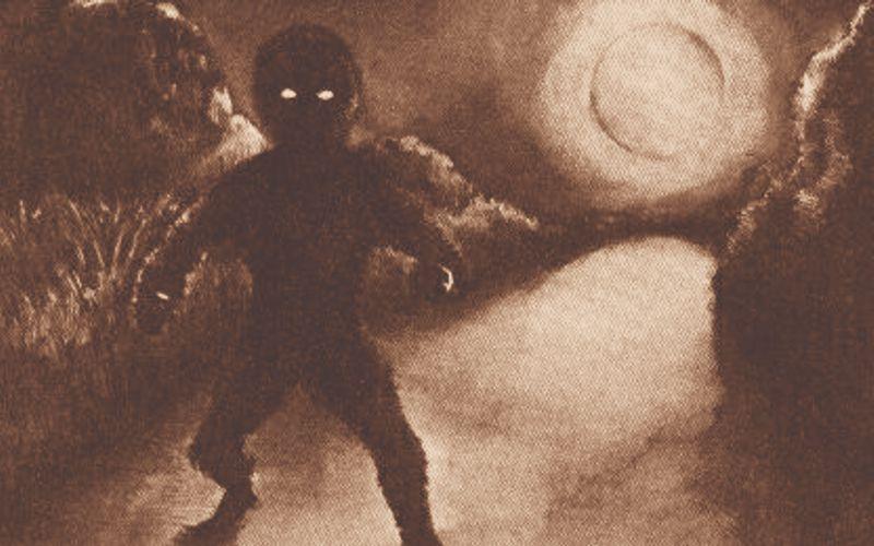 Θέαση εξωγήινου όντος στη Γαλλία, το 1954...